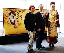 2015年西陣織展」と「琳派400年記念祭」:喜左衛門ブログ   京都の専門 ...